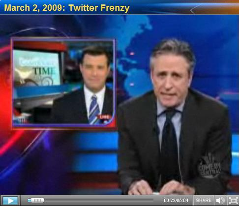The Daily Show with Jon Stewart - Twitter Frenzy