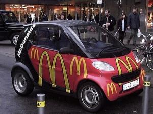 McDonalds Car