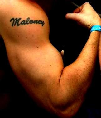 My personal brand - the Maloney tattoo