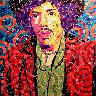 Junk Mail Hendrix (courtesty of Schimmel Art)