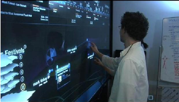 Schematic Multi Touch  Wall