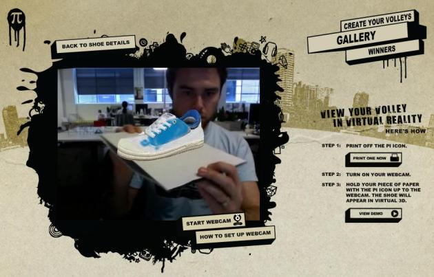 Augmented Reality Volleys