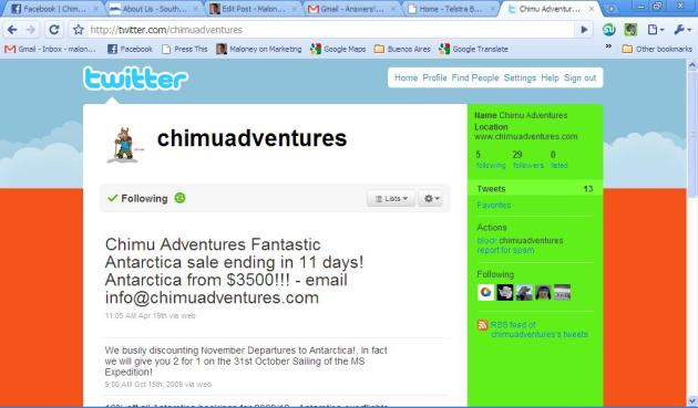 Chimu Adventures on Twitter