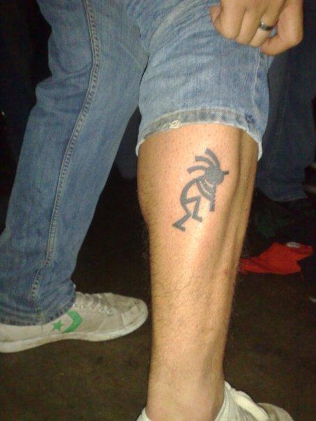 Tattoo design kokopelli tattoos for Best tattoo ink brand