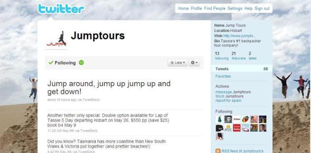 Jump Tours on Twitter