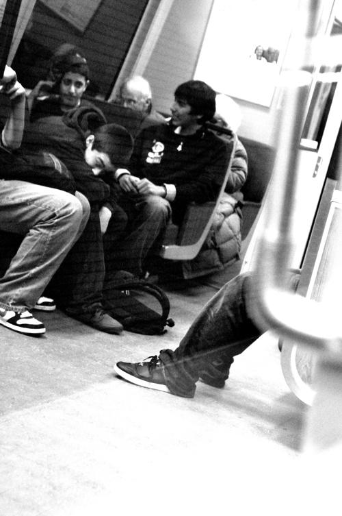 BART Boys: San Francisco, CA, USA 2010. Copyright Guy Grigsby 2010