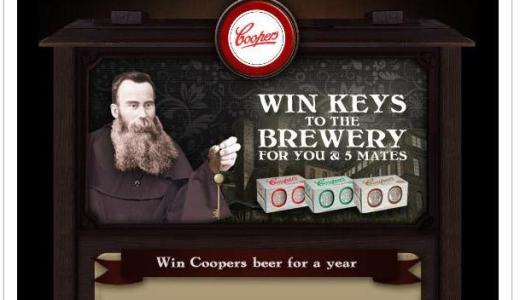 The Order of Coopers - Win Beer for a Year Email