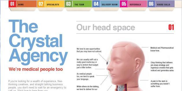 New Crystal Agency Website