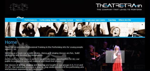 Theatretrain Website