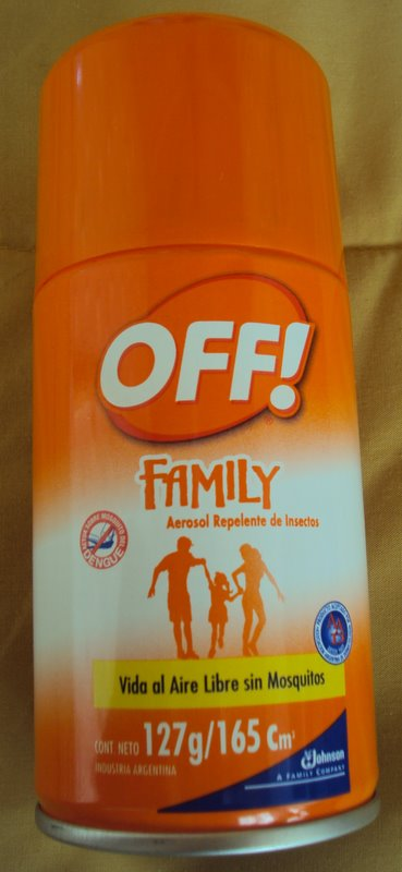 Off Family - New Spray-On Contraceptive