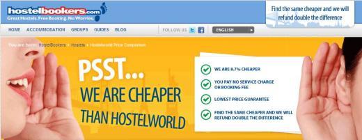 Hostel Bookers Vs Hostel World Price Comparison