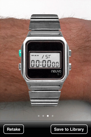 Neuvo Watches Try It Before You Buy It iPhone Application