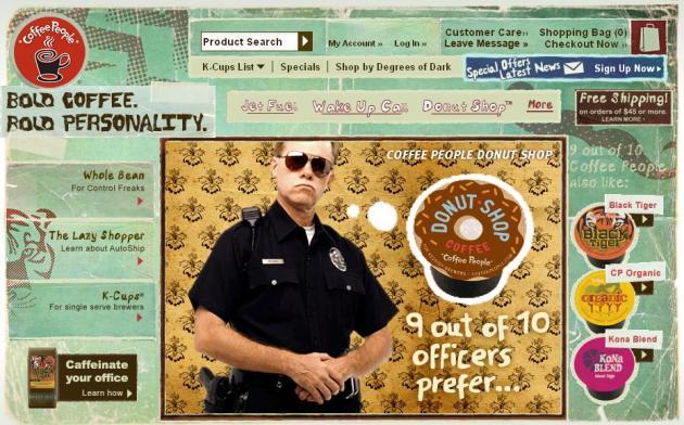 Coffee People Website