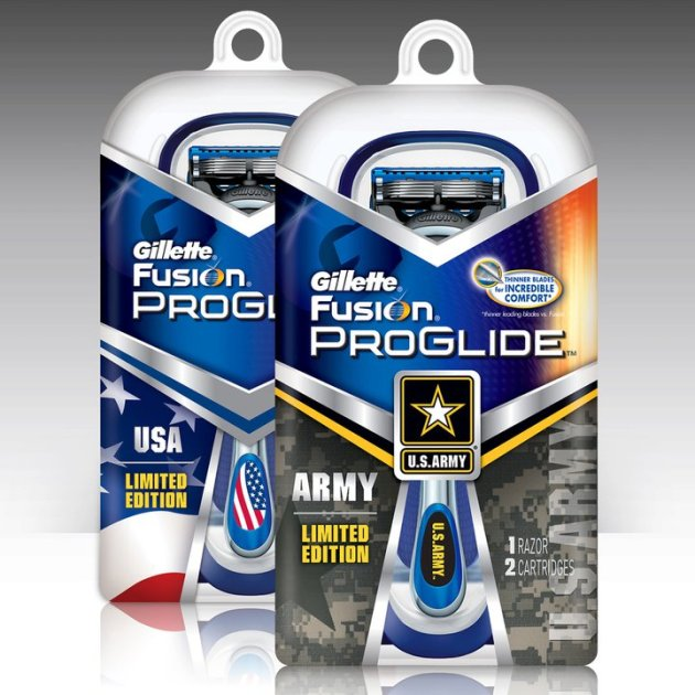 Gillette Armed Forces Razors