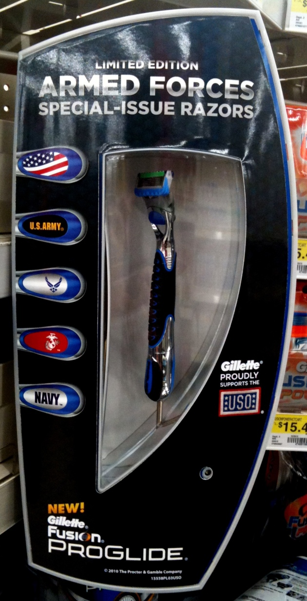 Gillette Limited Edition Armed Forces Special Issue Razors