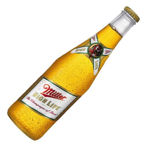 Miller High Life Bottle