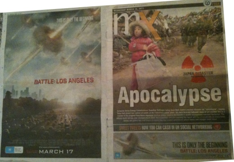 Battle: Los Angeles Unfortunate Media Placement