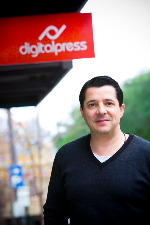 Theo Pettaras - Founder of Digitalpress