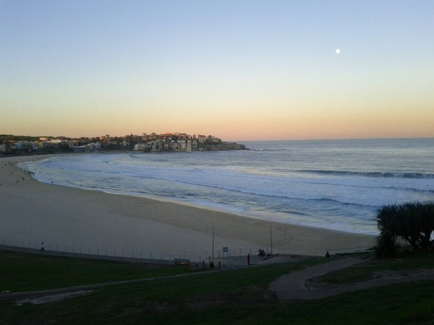 The view from Chapter One Coffee & Wine Room Bondi Beach
