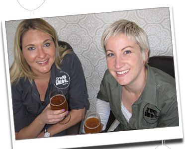 Danielle Allen and Jayne Lewis - Founders of Two Birds Brewing