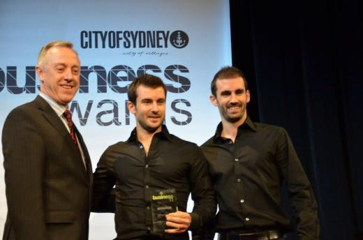Two Black Sheep taking out Small Business of the Year